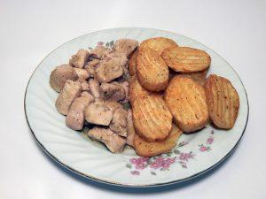 חזה עוף ותפוחי אדמה